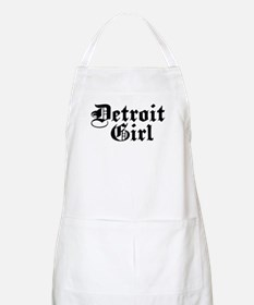Detroit Girl BBQ Apron