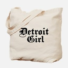 Detroit Girl Tote Bag