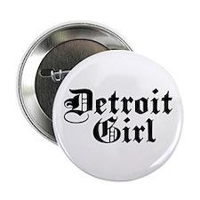 "Detroit Girl 2.25"" Button"
