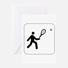 Tennis Icon Greeting Cards (Pk of 10)
