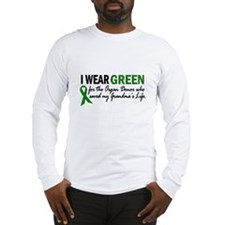 I Wear Green 2 (Grandma's Life) Long Sleeve T-Shir