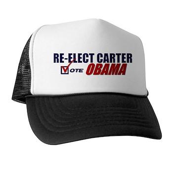 Re-elect Carter Trucker Hat