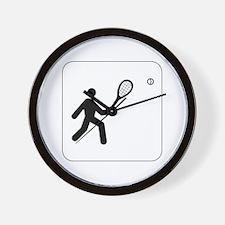 Tennis Icon Wall Clock