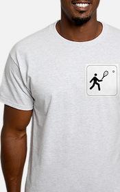 Tennis Icon Ash Grey T-Shirt