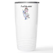 Nurse I Call the Shots Travel Mug