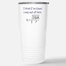 Escape Velocity Stainless Steel Travel Mug