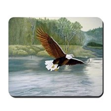 American Bald Eagle Flight Mousepad