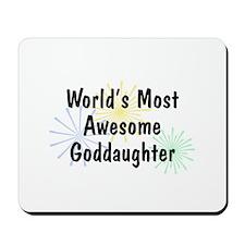 MA Goddaughter Mousepad