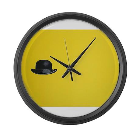 Canary Yellow Large Wall Clock