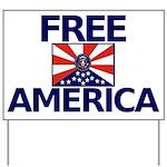 Free America Yard Sign