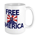 Free America Large Mug