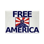 Free America Rectangle Magnet (100 pack)