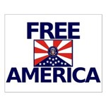 Free America Small Poster