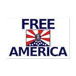 Free America Mini Poster Print