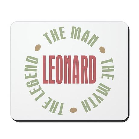 Leonard Man Myth Legend Mousepad