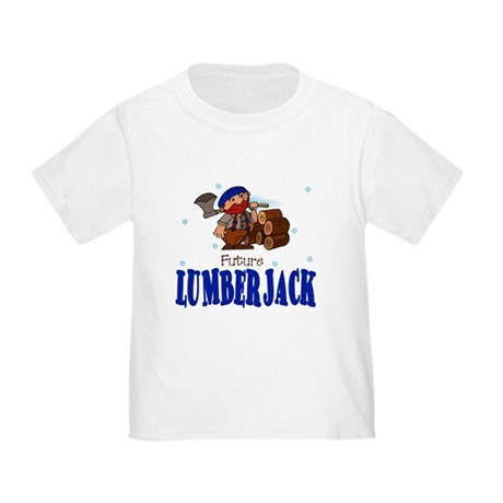 Future Lumberjack Baby Toddler T-Shirt