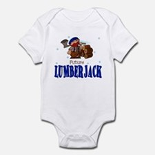 Future Lumberjack Baby Toddler Infant Bodysuit