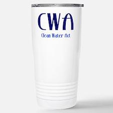 Clean Water Act Travel Mug