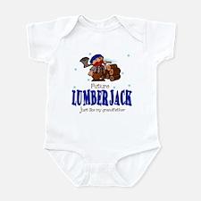Future Lumberjack Like Grandpa Infant Bodysuit