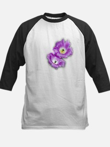 Two Purple Cactus Flowers Tee