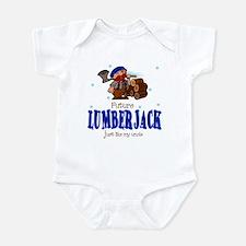 Future Lumberjack like Uncle Baby Infant Bodysuit