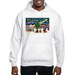 XmasMagic/3 Shelites (s) Hooded Sweatshirt