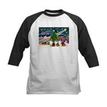 XmasMagic/3 Shelites (s) Kids Baseball Jersey