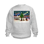XmasMagic/3 Shelites (s) Kids Sweatshirt