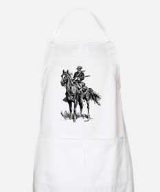 Old Bill Cavalry Mascot BBQ Apron