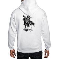 Old Bill Cavalry Mascot Hoodie