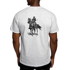 Old Bill Cavalry Mascot T-Shirt