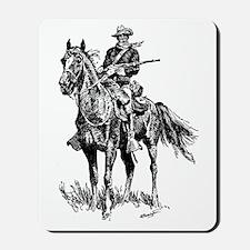 Old Bill Cavalry Mascot Mousepad