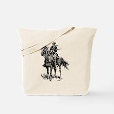 Old Bill Cavalry Mascot Tote Bag