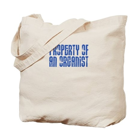 Property of an Organist Tote Bag