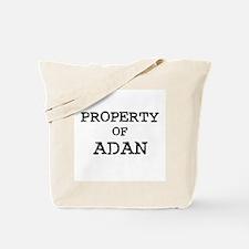 Property of Adan Tote Bag