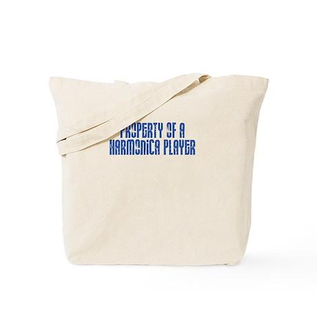 Property of a Harmonica Playe Tote Bag