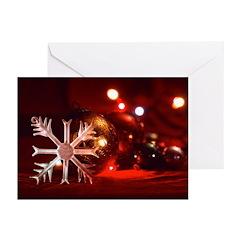 Crystal Snowflake Christmas Card (Pk of 10)