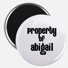 Property of Abigail Magnet