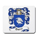 Dupont Family Crest Mousepad