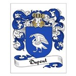 Dupont Family Crest Small Poster