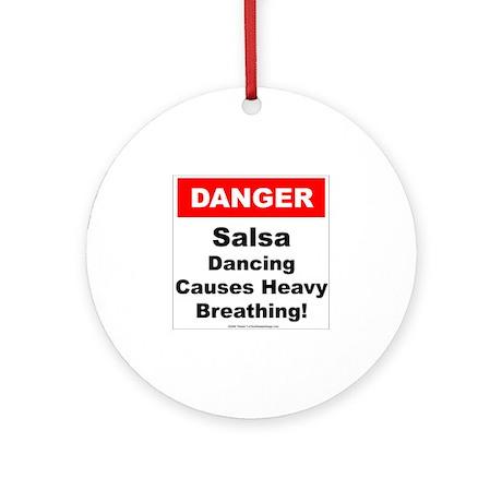 Danger Salsa Ornament (Round)