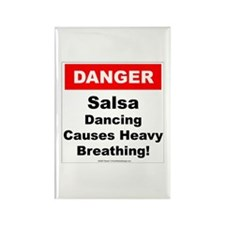 Danger Salsa Rectangle Magnet