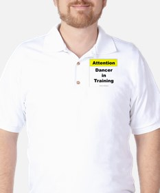 Dancer In Training Golf Shirt