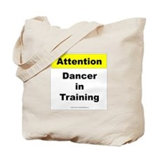 Dancer In Training Tote Bag