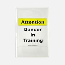 Dancer In Training Rectangle Magnet