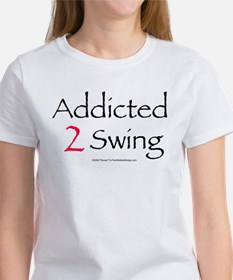 Addicted To Swing Tee