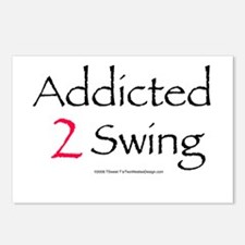 Addicted To Swing Postcards (Package of 8)
