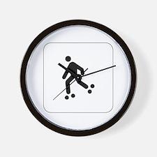 Skating Icon Wall Clock