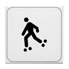 Skating Icon Tile Coaster