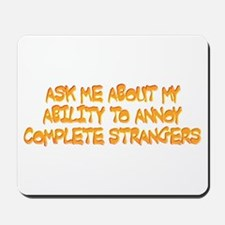 annoy ability Mousepad
